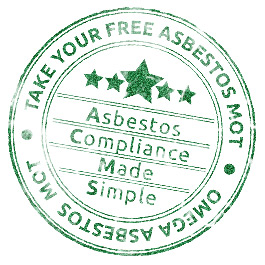 Omega Asbestos MOT Logo