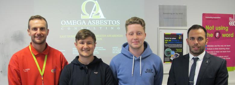 Asbestos Experts Deliver Training To Construction Students