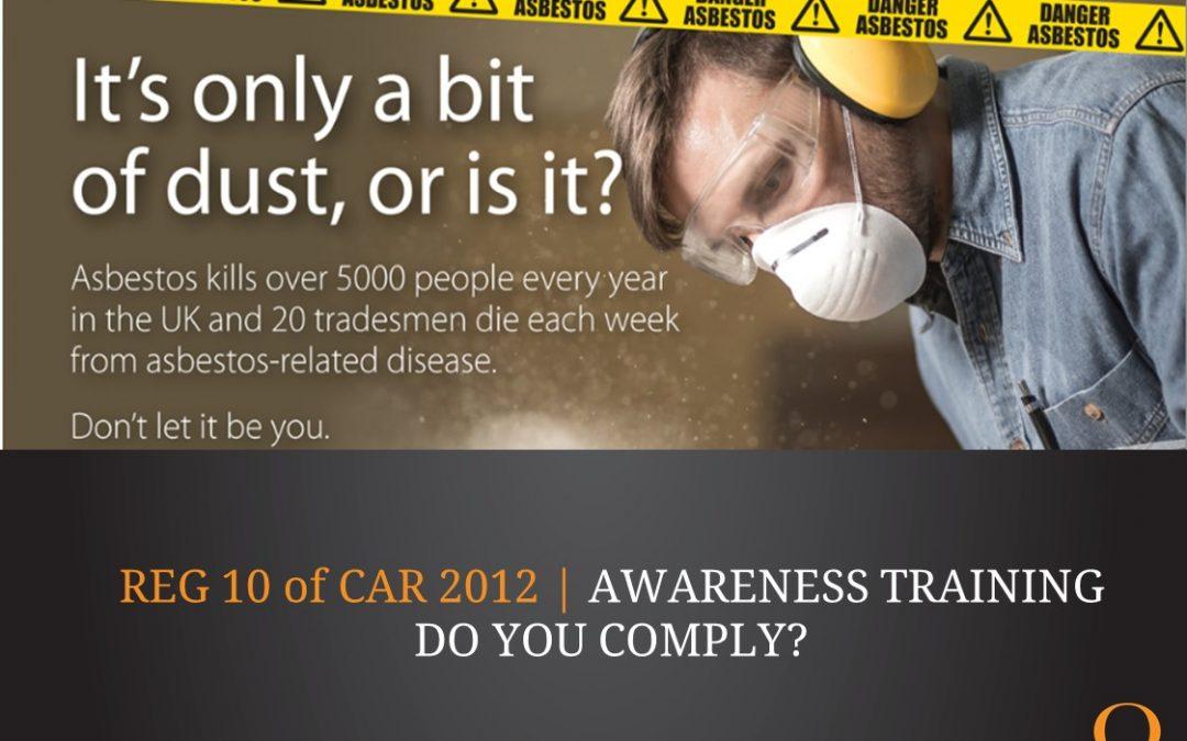 Asbestos – are you aware?